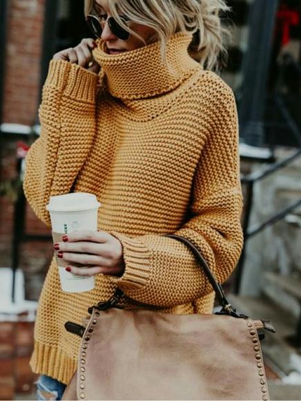 c742af30ef Dijon Chunky Knit Sweater. M 5a54b425c9fcdf08cb049cce